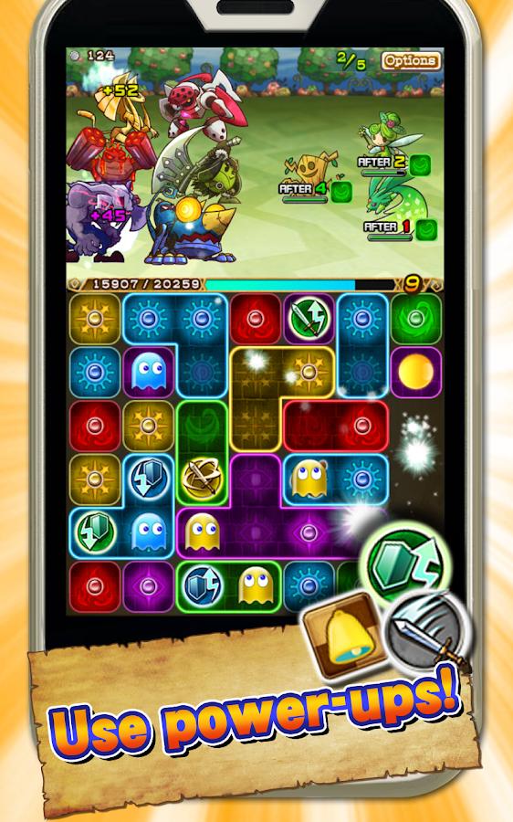 PAC-MAN MONSTERS - screenshot