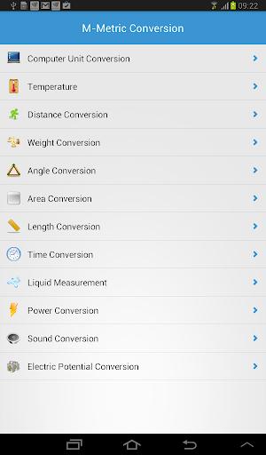 M-Metric Conversion PRO
