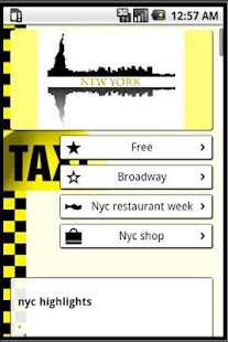 NYC Visitors Guide - screenshot thumbnail