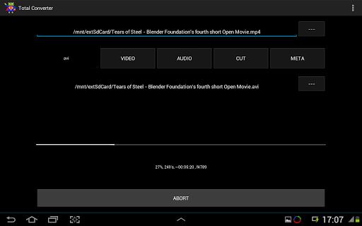 【免費媒體與影片App】Video Converter ARMv7 Codec-APP點子