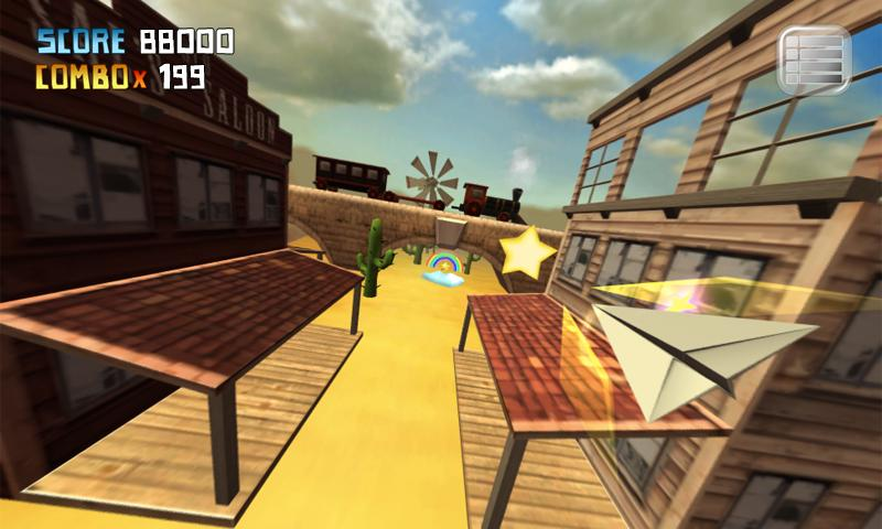 My Paper Plane 3 (3D)- screenshot