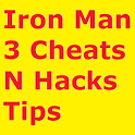 Iron Man 3 Cheats N Hacks Tips icon