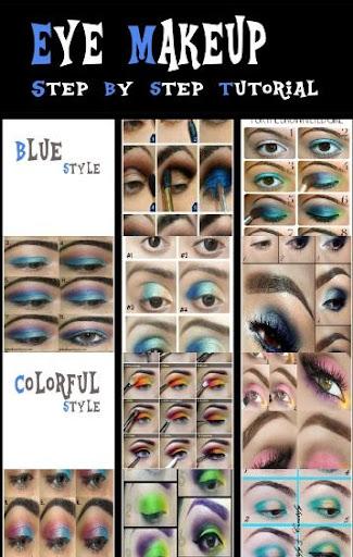 Eye Makeup Idea Step Tutorial
