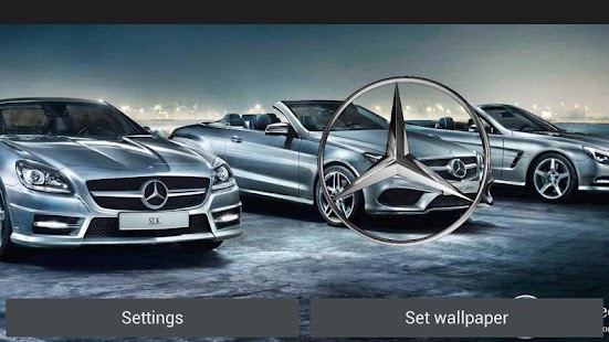 3D MERCEDES-BENZ Logo HD LWP - screenshot thumbnail