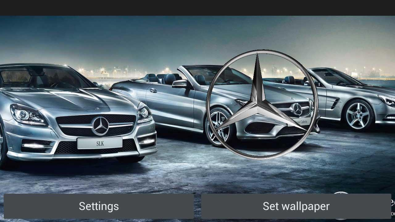 3D MERCEDES-BENZ Logo HD LWP - screenshot