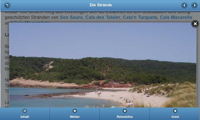 Menorca-web.de- screenshot