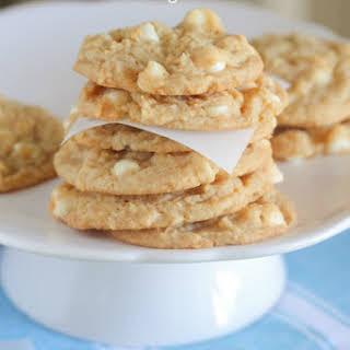 White Chocolate Lemon Pudding Cookies.