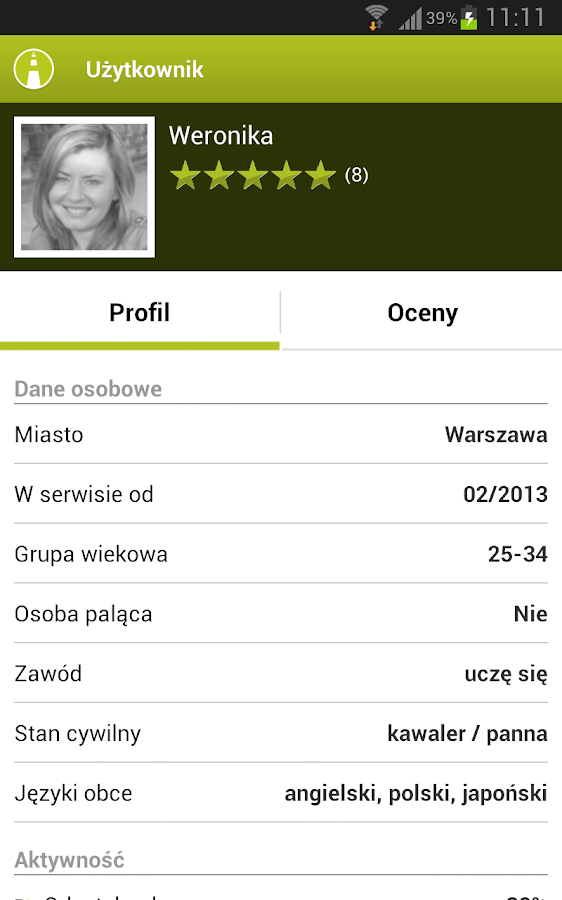 carpooling.pl - screenshot
