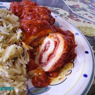 Brenda's Pepperoni Chicken Rollups