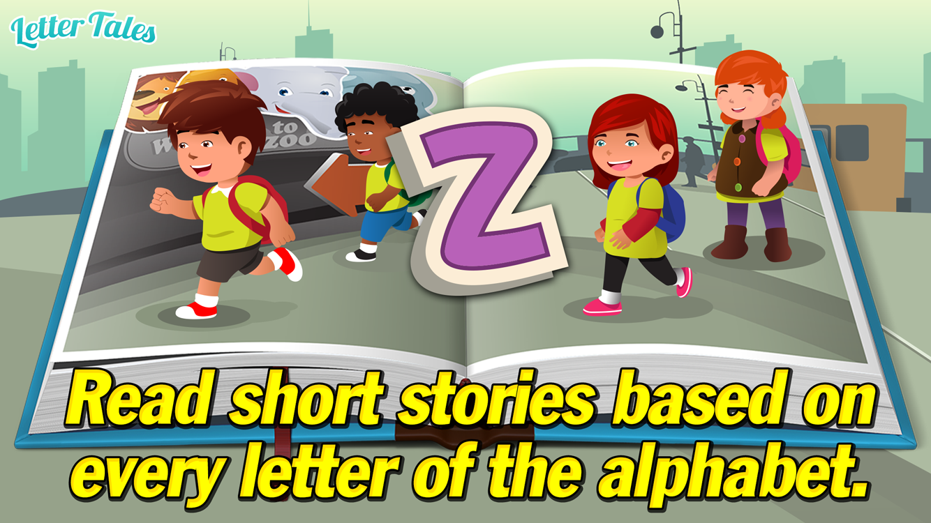 Letter Tales - Learn to Read- screenshot