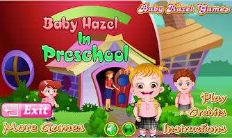 Screenshot of Baby Hazel In Preschool