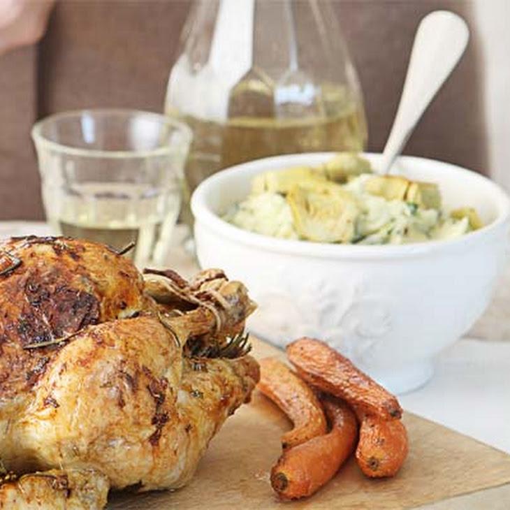 Artichoke, Garlic & Potato Mash Recipe