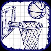 Dropshots Doodle Basketball