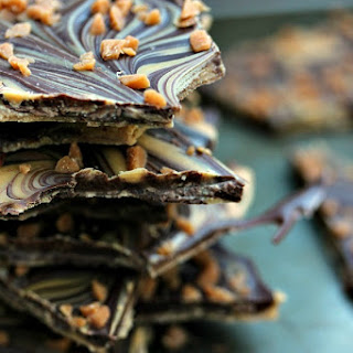 Chocolate & Peanut Butter Bark