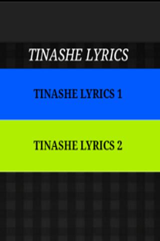 Just The Lyrics - Tinashe