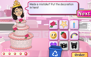 Screenshot of TVOKids Cake Artist