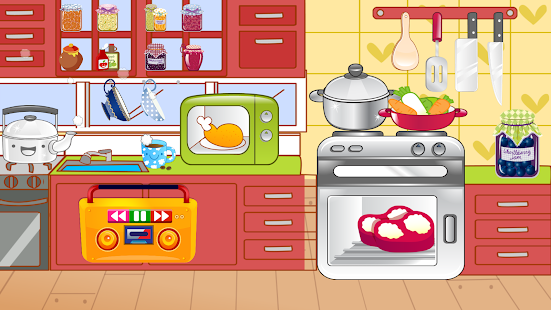 kids kitchen free cooking game android apps on google play. Black Bedroom Furniture Sets. Home Design Ideas