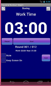Workout Timer screenshot 0