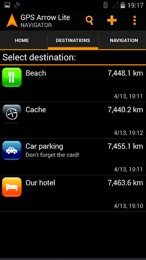 GPS Arrow Navigator LITE  screenshots 2