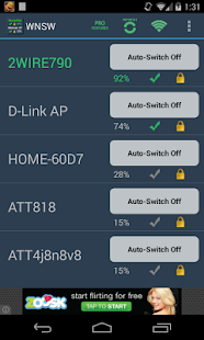 A Wifi Network Switcher Widget - screenshot thumbnail