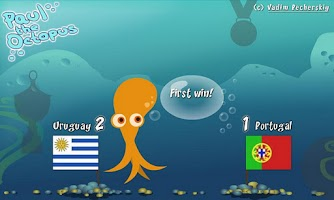 Screenshot of Paul the Octopus