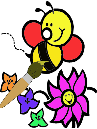 Coloring Book Bee Family Screenshot 5