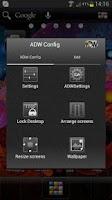 Screenshot of ADW Theme Samoled