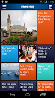 Screenshot of Thanh Nien Mobile