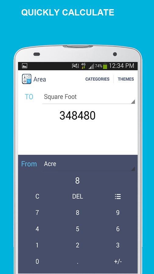 Simple Unit Converter- screenshot