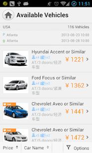 Zuzuche - Car rental expert - screenshot thumbnail