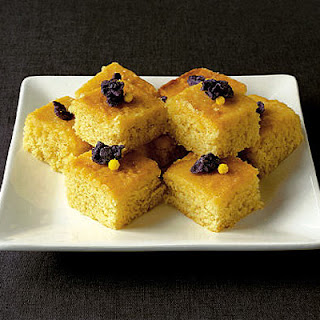 Lemon & Violet Drizzle Cake Recipe