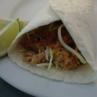 Shredded Pork Wraps