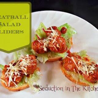 Meatball Salad Sliders