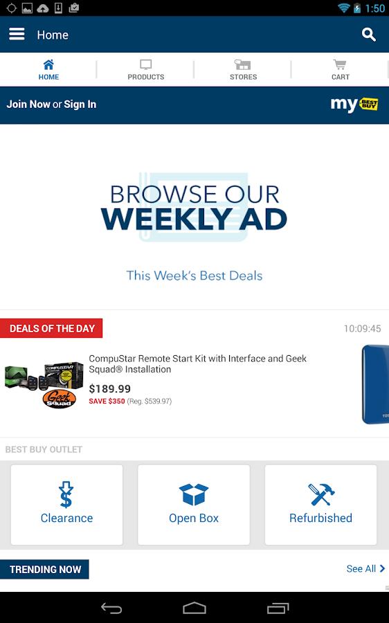 Best Buy - screenshot