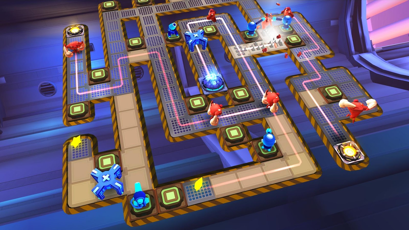 Tải Game The Bot Squad: Puzzle Battles Hack Full