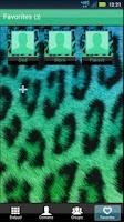 Screenshot of GO Contacts Cute Cheetah Theme