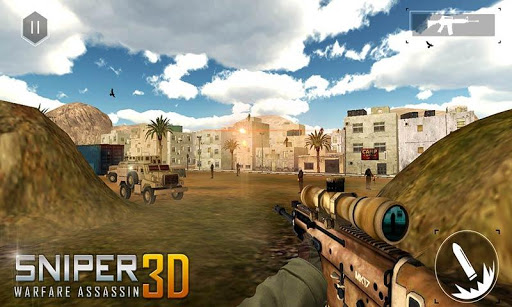 Sniper Warfare Assassin 3D  {cheat|hack|gameplay|apk mod|resources generator} 4