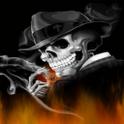 Gangster Skeleton Live Wallpap icon