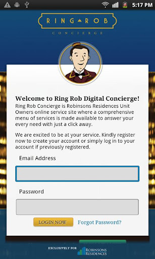 Ring Rob Concierge
