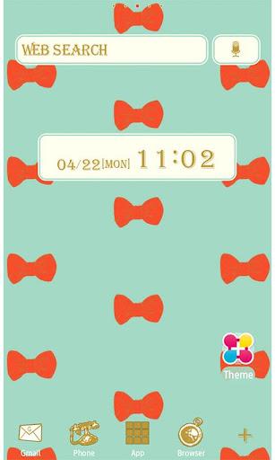 Love bows Wallpaper Theme 1.3 Windows u7528 1