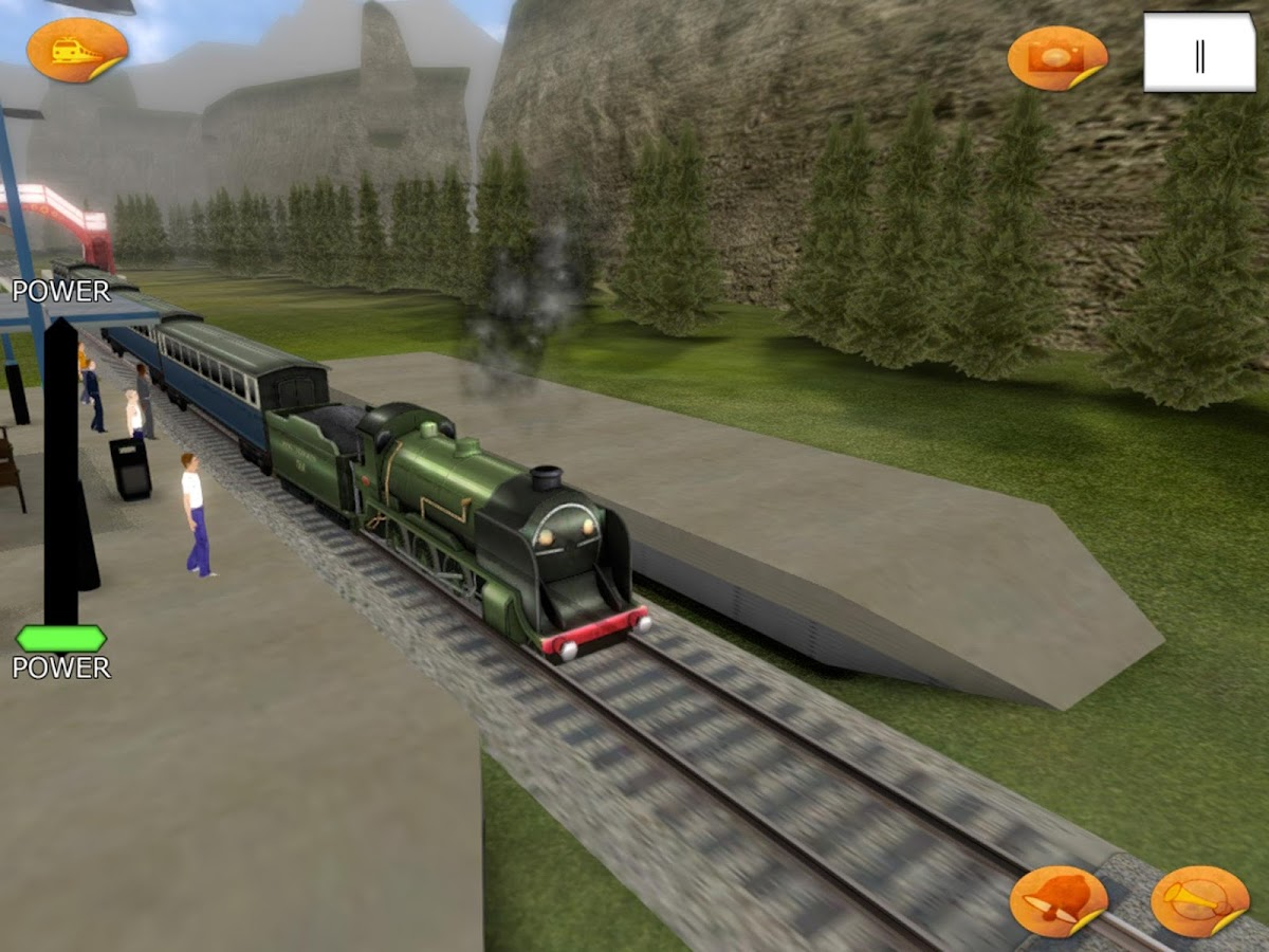 Super car city driving sim free games free online - Train Driver Train Simulator Game Screenshot