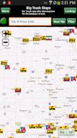 Screenshot of Big Truck Stops