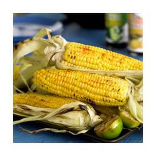 Grilled Corn with Lime Ponzu Butter