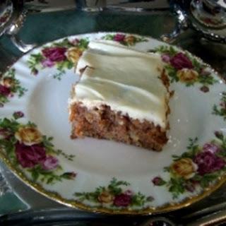 Nana'S Carrot Cake Recipe