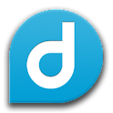 Dabla, group messaging ! BETA logo