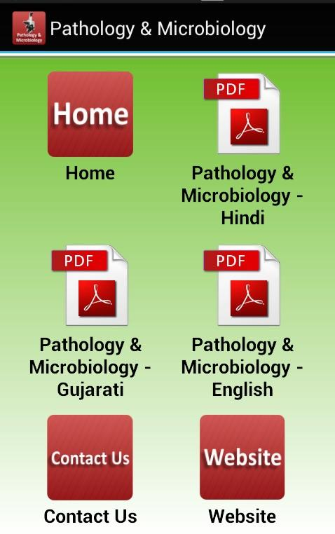 Pathology & Microbiology- screenshot