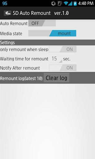 SD Auto Remount w/Ad 1.1.1 Windows u7528 1