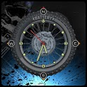Compass Clock Battery Widget icon