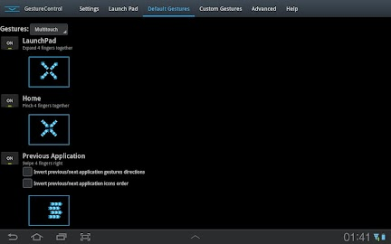 GMD GestureControl ★ root Screenshot 1