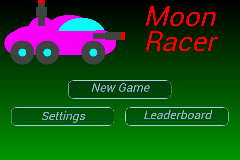 Moon Racer - 2D Retro Shooter - screenshot